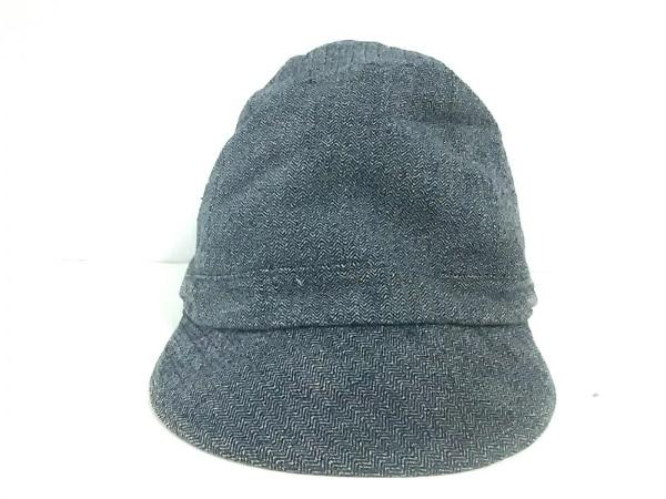 COEUR(クール) 帽子 2 ダークグレー コットン
