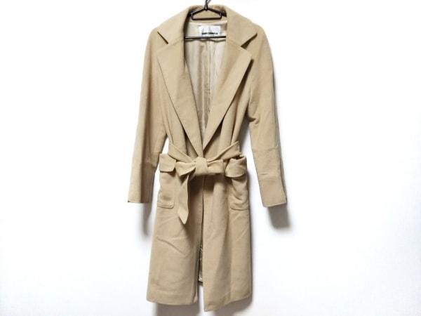 JUNKO SHIMADA(ジュンコシマダ) コート サイズ38 M レディース ライトブラウン 冬物