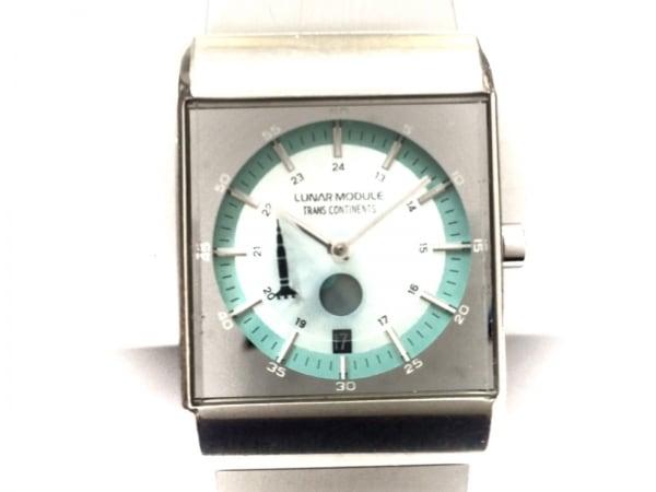 TRANS CONTINENTS(トランスコンチネンス) 腕時計 4-T003630GA レディース シルバー