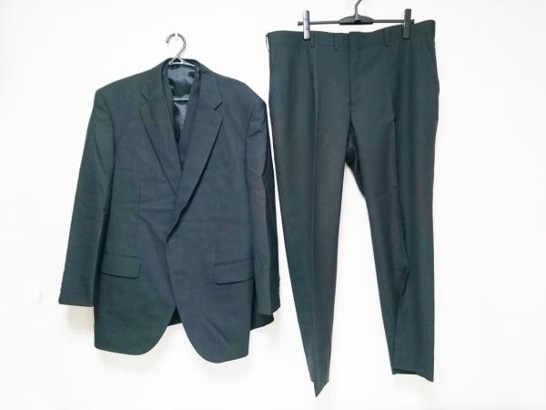 フィッチェ シングルスーツ サイズ113KB6 メンズ美品  ダークネイビー 3点セット