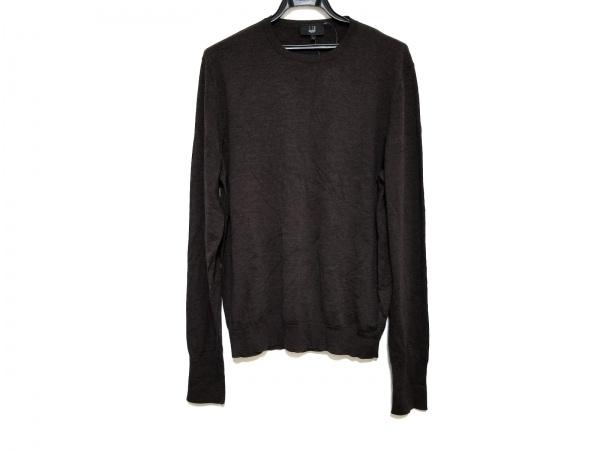 dunhill/ALFREDDUNHILL(ダンヒル) 長袖セーター サイズL メンズ美品  ダークブラウン