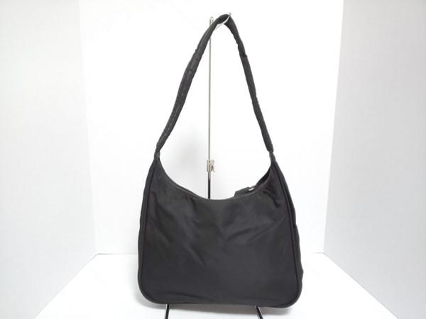 PRADA(プラダ) ショルダーバッグ美品  - 黒 ナイロン