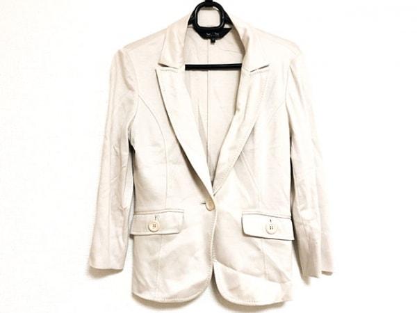 クードシャンス ジャケット サイズ38 M レディース美品  アイボリー