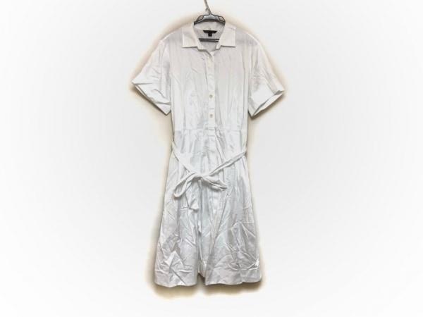 ブルックスブラザーズ ワンピース サイズ8 M レディース美品  白 シャツワンピ