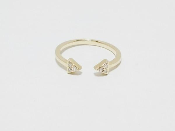 STAR JEWELRY(スタージュエリー) リング K10×ダイヤモンド 0.02カラット