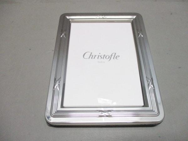 Christofle(クリストフル) 小物新品同様  シルバー 写真立て 金属素材