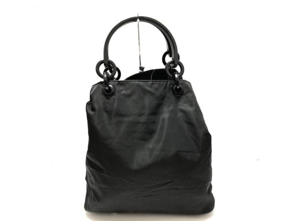 PRADA(プラダ) トートバッグ - 黒 プラスチックハンドル ナイロン