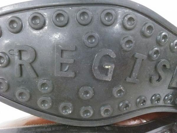 レジーナ レジス レイン レインブーツ L レディース ブラウン 型押し加工 ラバー