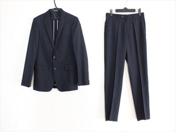 PERSON'S(パーソンズ) シングルスーツ サイズYA3 メンズ ダークネイビー ネーム刺繍