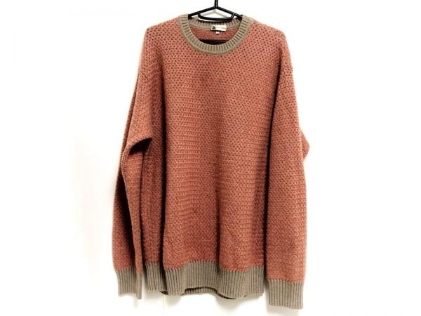 COLOMBO(コロンボ) 長袖セーター サイズ52 メンズ ブラウン×レッド