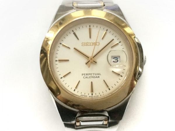 SEIKO(セイコー) 腕時計 パーペチュアルカレンダー 4F32-0080 レディース ゴールド