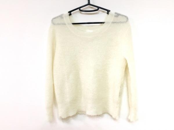 メゾン ド リーファー 長袖セーター サイズ38 M レディース美品  アイボリー