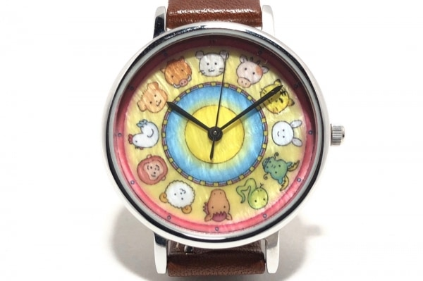 PierreLannier(ピエールラニエ) 腕時計 480A6 レディース 革ベルト/MOMOKO SAKURA