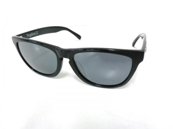 オークリー サングラス Frogskins LX OO2039-01 黒×シルバー プラスチック×金属素材