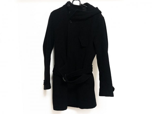 CUSTOMCULTURE(カスタムカルチャー) コート サイズ44 L メンズ 黒 BLACK/冬物