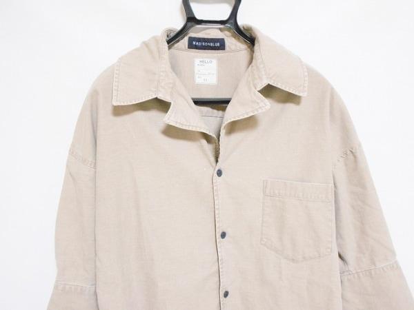 マディソンブルー ジャケット サイズ01 S レディース美品  ライトブラウン