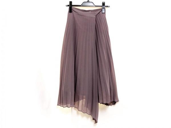 グーコミューン ロングスカート サイズ36 S レディース新品同様  ベージュ プリーツ
