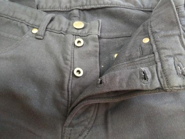 1 piu 1 uguale 3(ウノ ピュ ウノ ウグァーレ トレ) パンツ サイズ3 L メンズ美品  黒