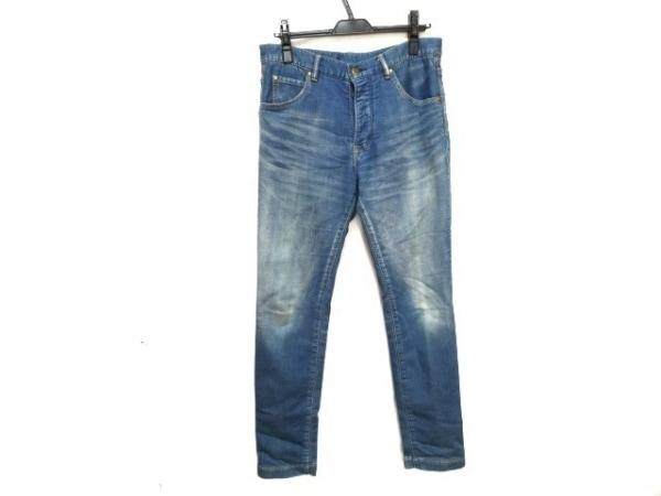 ウノ ピュ ウノ ウグァーレ トレ ジーンズ サイズ4 XL メンズ ブルー