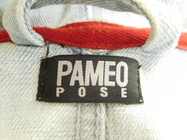 PAMEO POSE(パメオポーズ) コート サイズF レディース ライトブルー 春・秋物/デニム