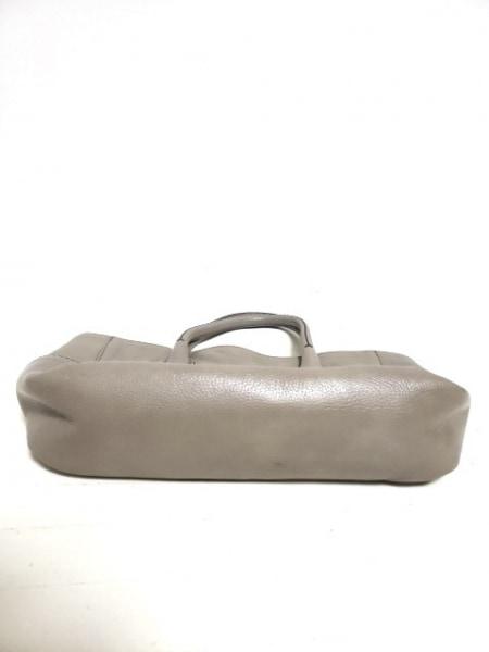 HIROFU(ヒロフ) トートバッグ グレー レザー