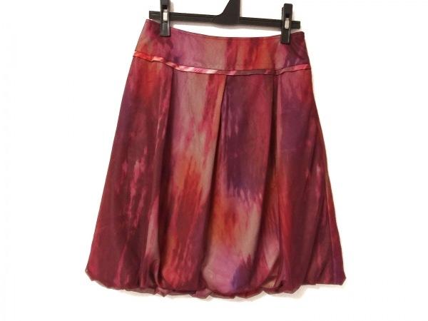 ヴィヴィアンタム スカート サイズ0 XS レディース美品  レッド×ピンク×マルチ