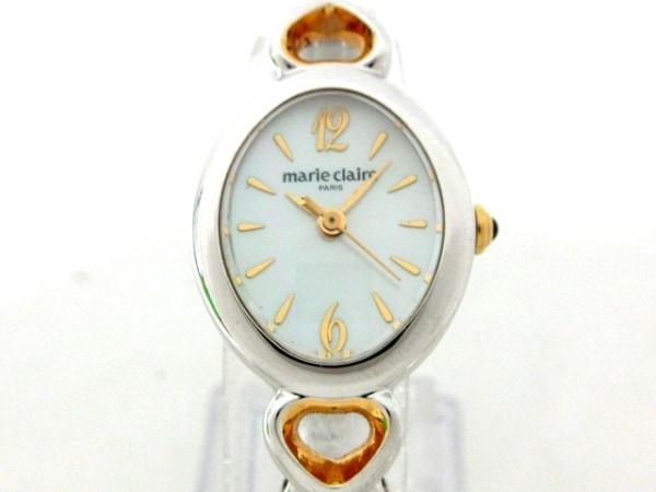 marie claire(マリクレール) 腕時計 RBPH-PO レディース アイボリー