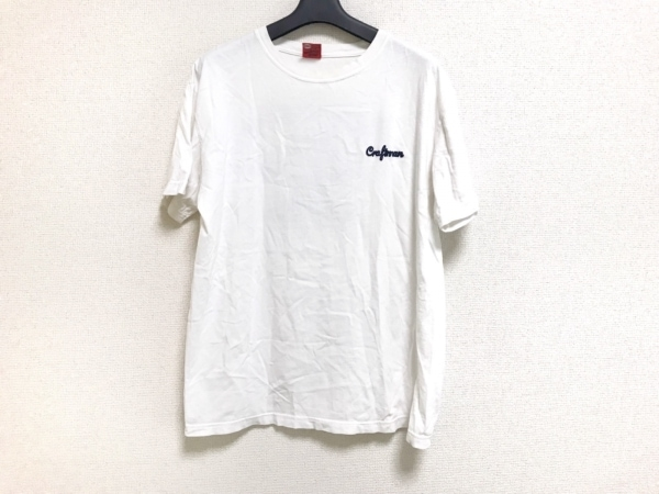 STUDIO D'ARTISAN(ダルチザン) 半袖Tシャツ サイズL メンズ 白