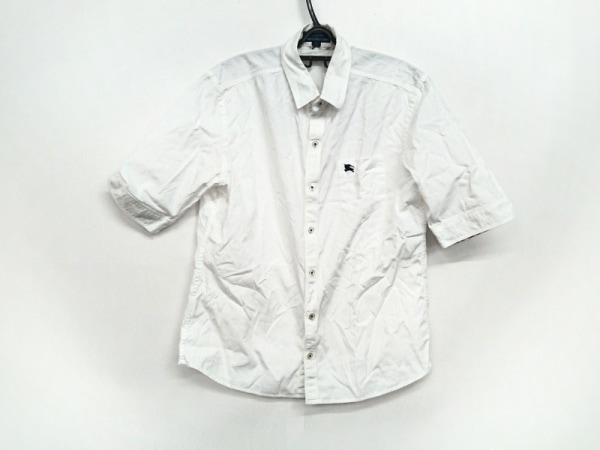 Burberry Blue Label(バーバリーブルーレーベル) 半袖シャツ サイズM メンズ 白