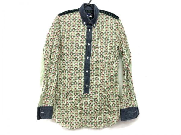 コムデギャルソンジュンヤワタナベメン 長袖シャツ サイズXS メンズ美品  花柄