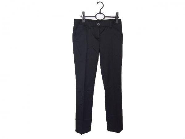DOLCE&GABBANA(ドルチェアンドガッバーナ) パンツ サイズ38 S レディース 黒