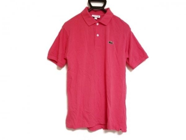 Lacoste(ラコステ) 半袖ポロシャツ サイズFR 3US S メンズ ピンク