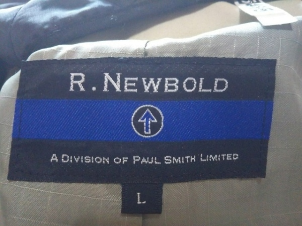 R.Newbold(アールニューボールド) コート メンズ ベージュ 冬物