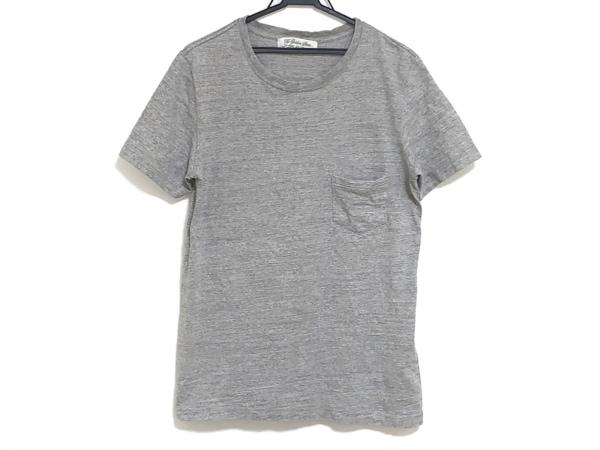 REMI RELIEF(レミ レリーフ) 半袖Tシャツ サイズL メンズ グレー