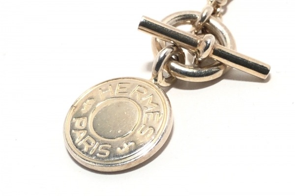 HERMES(エルメス) ネックレス セリエ 金属素材 ゴールド