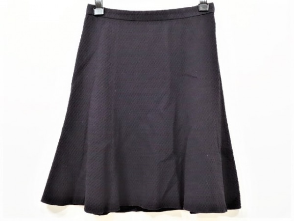JUSGLITTY(ジャスグリッティー) スカート サイズ2 M レディース美品  ダークネイビー