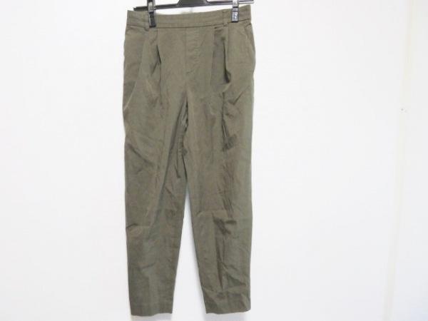 23区(ニジュウサンク) パンツ サイズ38 M レディース カーキ