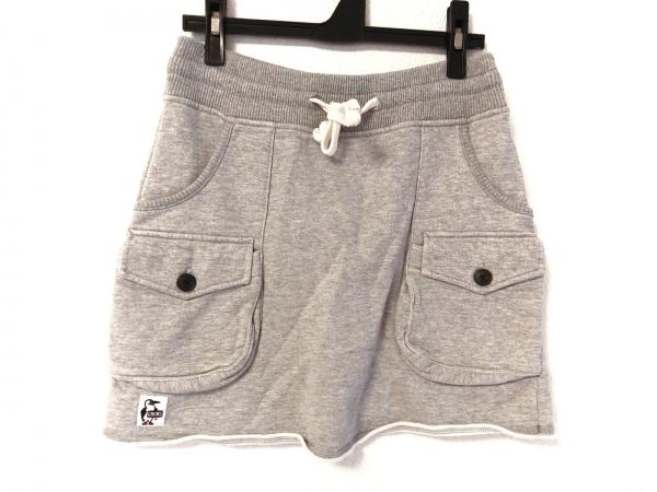 CHUMS(チャムス) スカート サイズM レディース ライトグレー