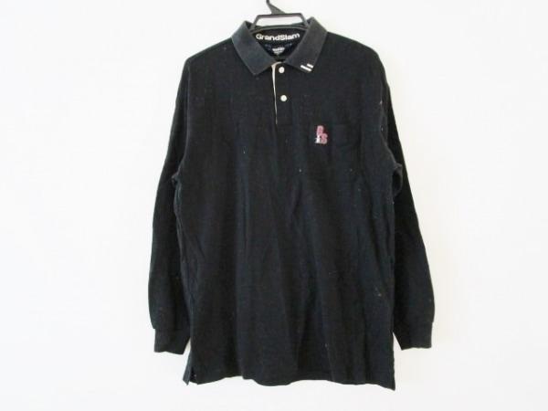 Munsingwear(マンシングウェア) 半袖ポロシャツ サイズLL メンズ 黒