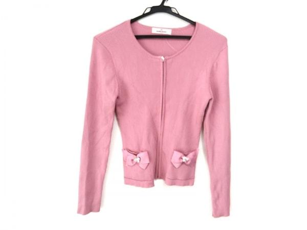 GALLERYVISCONTI(ギャラリービスコンティ) カーディガン レディース美品  ピンク