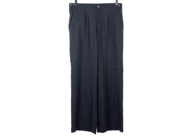 HaaT HeaRT(ハート) パンツ サイズ2 M レディース 黒 ストライプ/シワ加工
