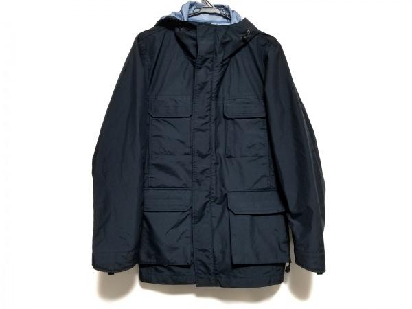 ジャーナルスタンダード コート サイズL メンズ美品  ネイビー 春・秋物