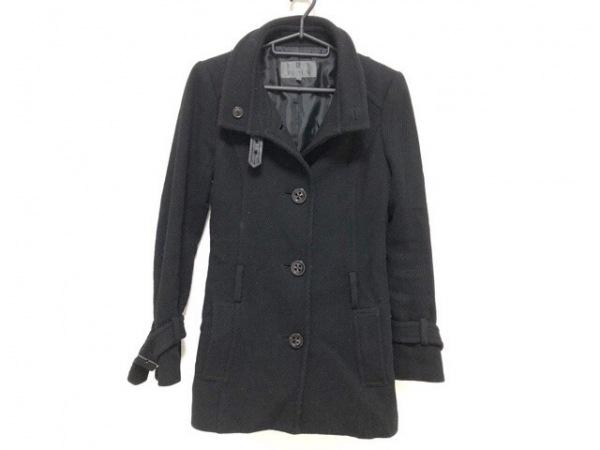 BLACK by moussy(ブラックバイマウジー) コート サイズ1 S レディース 黒 冬物