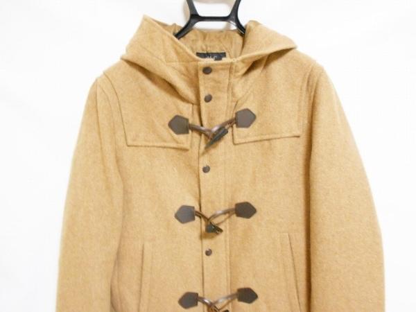 MEN'SBIGI(メンズビギ) ダッフルコート サイズ3 L メンズ美品  ライトブラウン 冬物