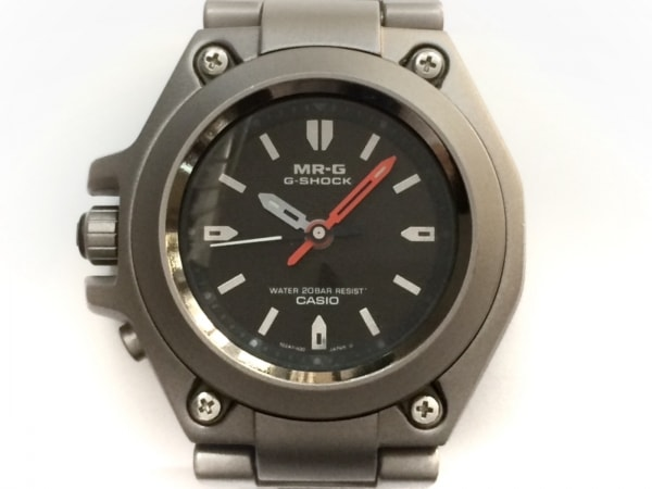 CASIO(カシオ) 腕時計美品  G-SHOCK MR-G MRG-120T メンズ 黒