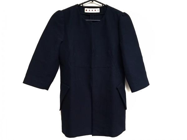 MARNI(マルニ) コート サイズ38 S レディース美品  ダークネイビー 春・秋物