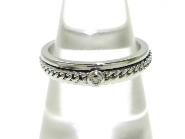 PIAGET(ピアジェ) リング 54美品  K18WG×ダイヤモンド