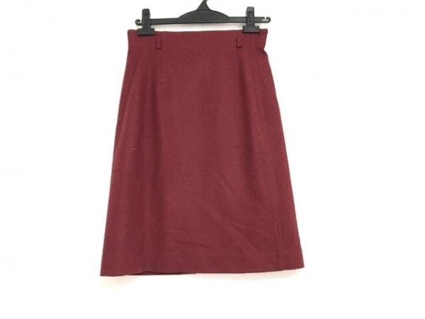 NARACAMICIE(ナラカミーチェ) スカート サイズ1 S レディース美品  レッド