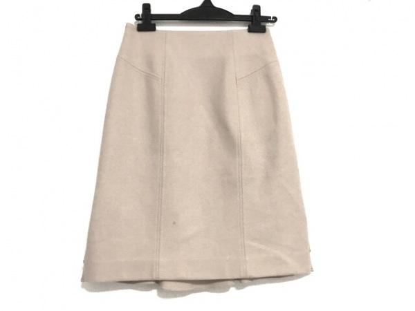 NARACAMICIE(ナラカミーチェ) スカート サイズ0 XS レディース美品  ベージュ