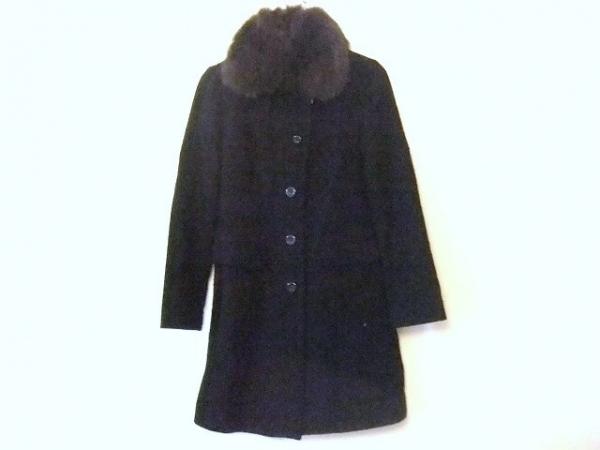 Swingle(スウィングル) コート サイズ2 M レディース 黒 冬物/ファー